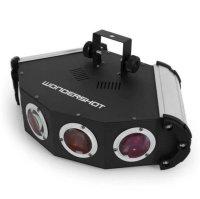 Aangeboden: Nieuwe Discolamp - Wondershot - 8 Channels DMX LED € 120,-