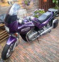 Aangeboden: Suzuki VX 800 Highlander, uit 3-9-1997 € 1.950,-
